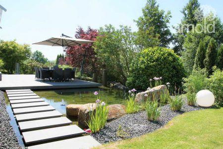 Ein Esszimmer am Teich – Gärten des Jahres