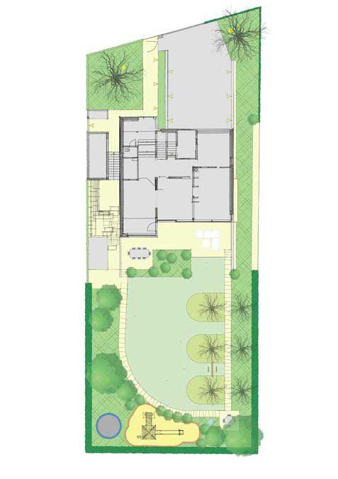 Gartenplanung Zeichnung 02