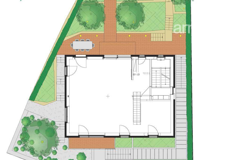 Gartenplanung Zeichnung 08