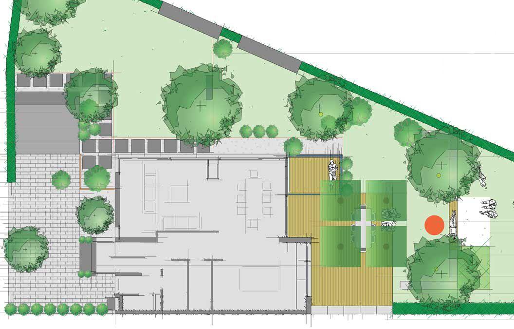 Gartenplanung Zeichnung 09