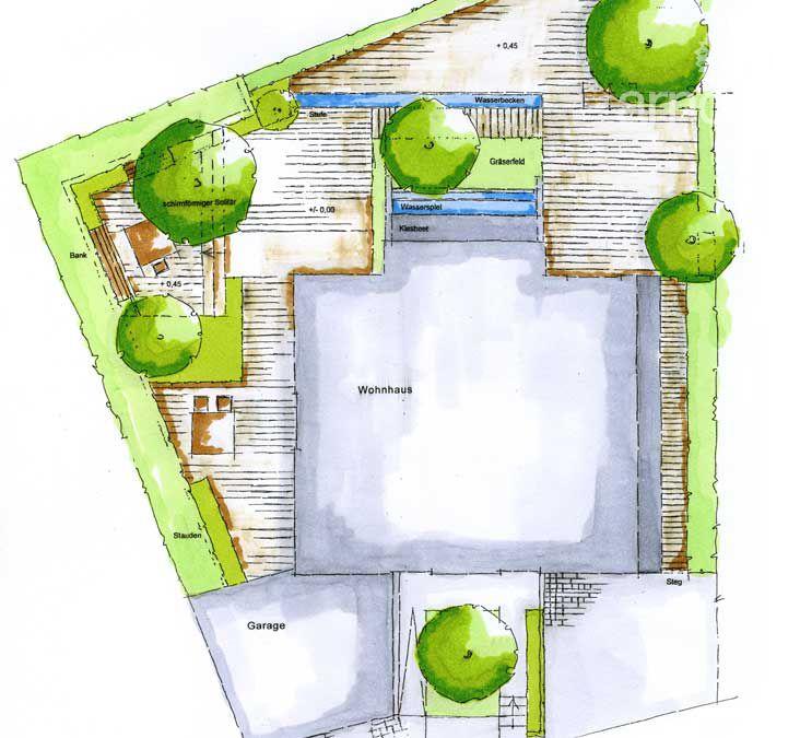 Gartenplanung Zeichnung 11