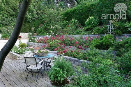 Klassischer Rebmauergarten